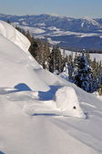 Snowdrifts — Stock Photo