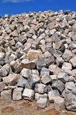 Paralelepípedos de granito — Foto Stock