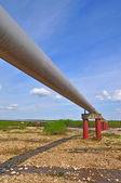 Gazociąg wysokiego ciśnienia — Zdjęcie stockowe