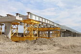 On bridge building — Stock Photo