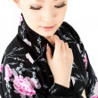Japanese kimono woman - Stock Photo