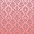 Seamless pink floral pattern — Stockvectorbeeld