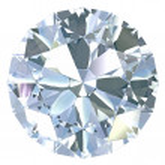Round, old european cut diamond — Stock Photo #9546937