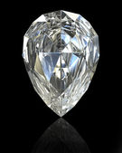 Pear cut diamond — Stock Photo
