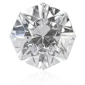 Single cut diamant — Stockfoto