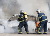 Firefighters — Stockfoto