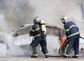 пожарных — Стоковое фото