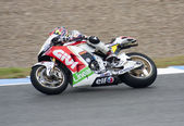 Stefan Bradl in IRTA Jerez 2012 — Stock Photo