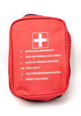 First aid kit — Стоковое фото
