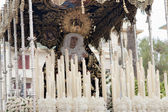 Virgin of the star in Andalusia — Stock Photo