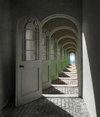 Arched Doorway to Heaven — Stock Photo