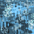 Stock Photo: Abstract winter background