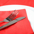 Fork and knife — Stock Photo #8141997