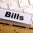 Bills — Stock Photo