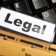 Legal — Stock Photo