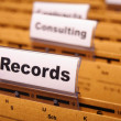 Stock Photo: Records