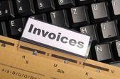 Invoice — Stock Photo