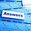 Answers — Stock Photo #9297137
