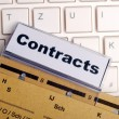 Stock Photo: Contract