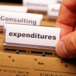 Expenditures — Stock Photo