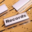 Records — Stock Photo #9297282