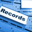 Records — Stock Photo #9297291