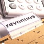 Revenue — Stock Photo