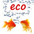 Stock Photo: Eco ecology nature or environment concept
