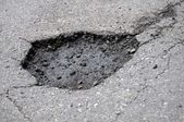Pothole — Stock Photo