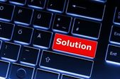 Solution — Foto de Stock
