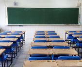 Classroom and chalkboard — Stock Photo