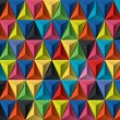 Royalty-Free Stock Vector Image: Multicolored geometric pattern