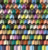Plano de fundo multicolorido geométrico — Vetor de Stock