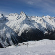 Mountains, Winter, Sunny Day - Stockfoto