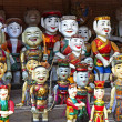 Stock Photo: Water puppets