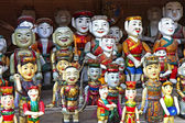 Water puppets — Stock Photo