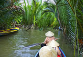 Canal in Mekong Delta — Stock Photo