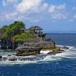 Пура Танах Лот - Храм на Бали, Индонезия — Стоковое фото