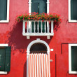 Front door of Home / Old European House / Italy — Stok fotoğraf