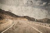 Yol / vintade fotoğraf — Stok fotoğraf