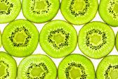 Slises of Fresh Kiwi / close-up background — Stock Photo