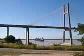 Rosario Victoria Bridge — Stock Photo
