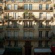 Stock Photo: Sunny morning in heart of Paris