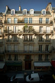 Sunny morning in the heart of Paris — Stock Photo