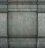3d antique classic architecture Greek Roman wall render — Stock Photo