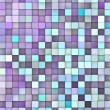 Stock Photo: Abstract 3d render backdrop in different shades of purple blue