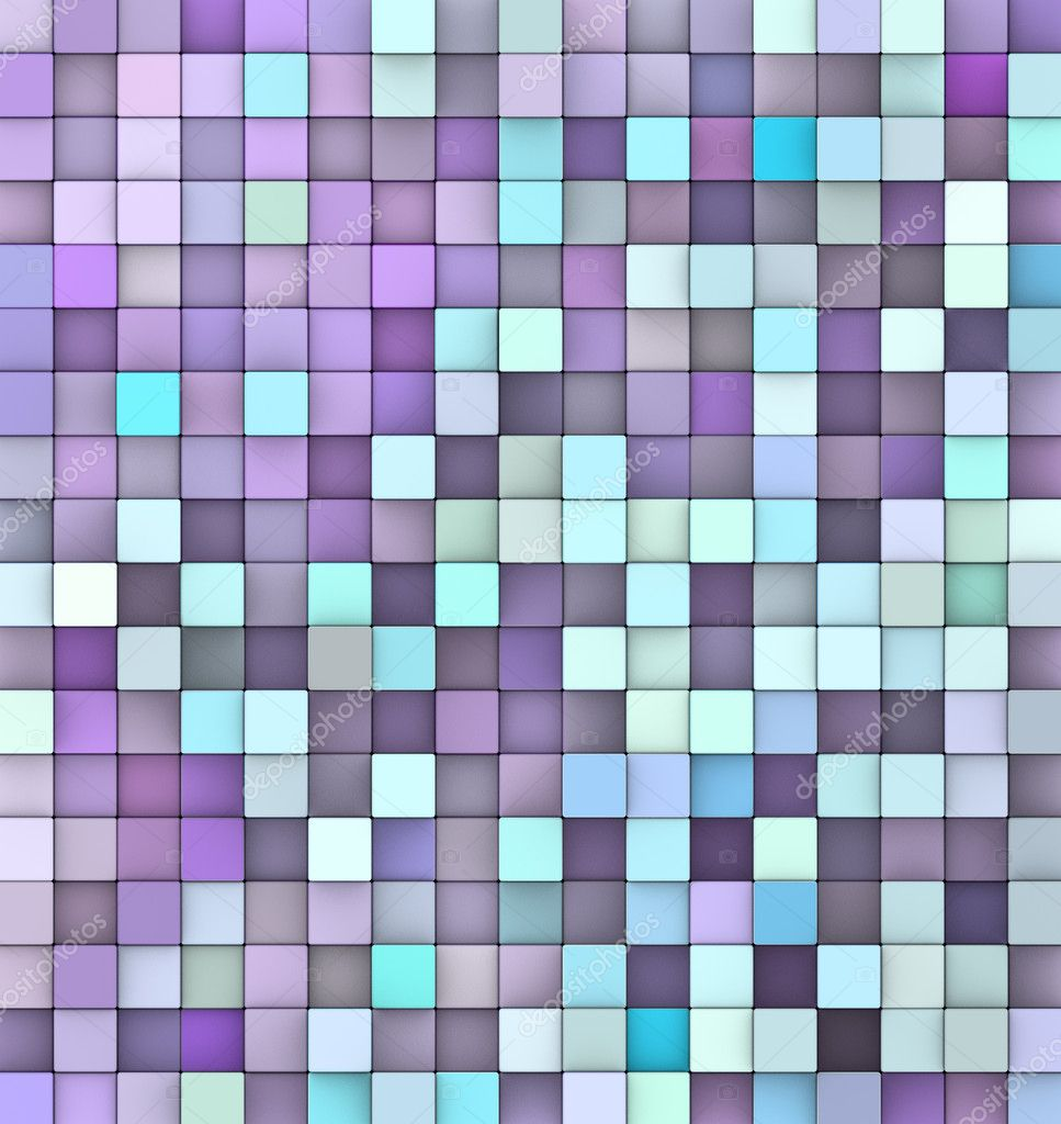 Abstract 3d Render Backdrop In Different Shades Of Purple