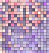 Abstrakt bakgrund 3d render kuber i lila rosa — Stockfoto