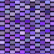 Abstract 3d render multiple purple cylinder backdrop pattern - Stock Photo