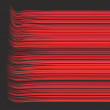 Stock Photo: 3d render multiple wavy lines in different red pink